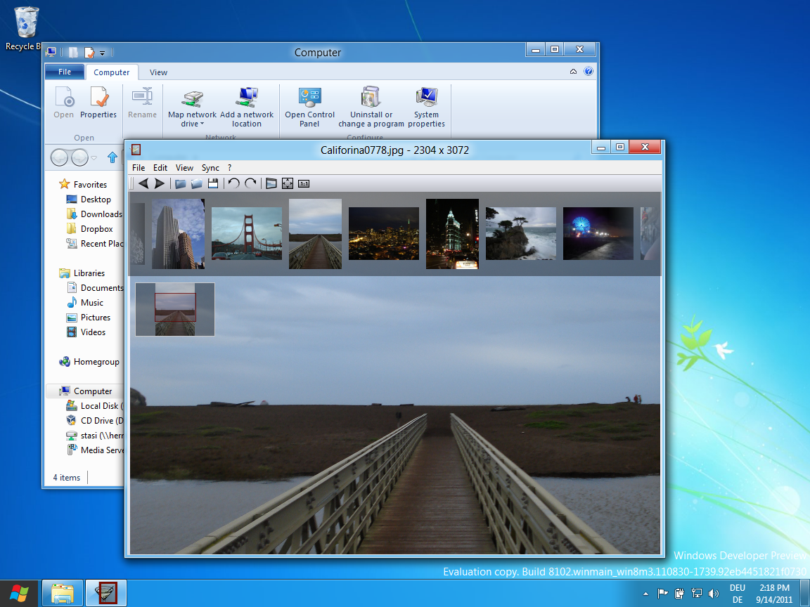 nomacs running on windows 8